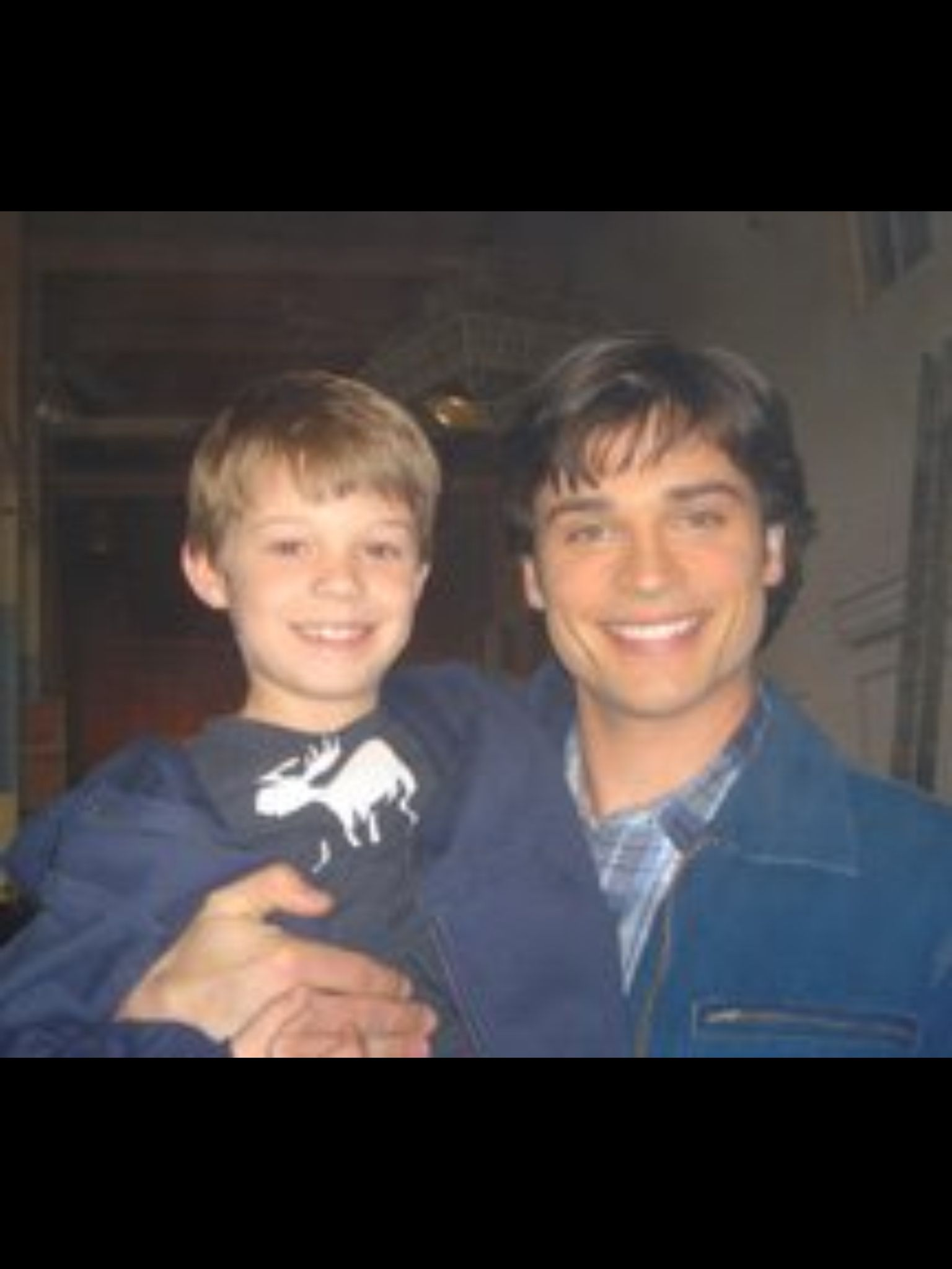 Young Colin Clark Tom Welling & a...
