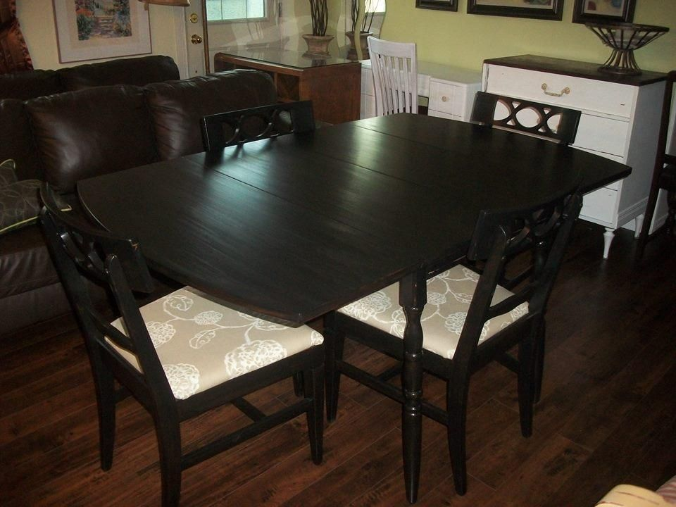 Refinished Dining Room Set Table Buffet And 4 Chairs 40000 Must Sell