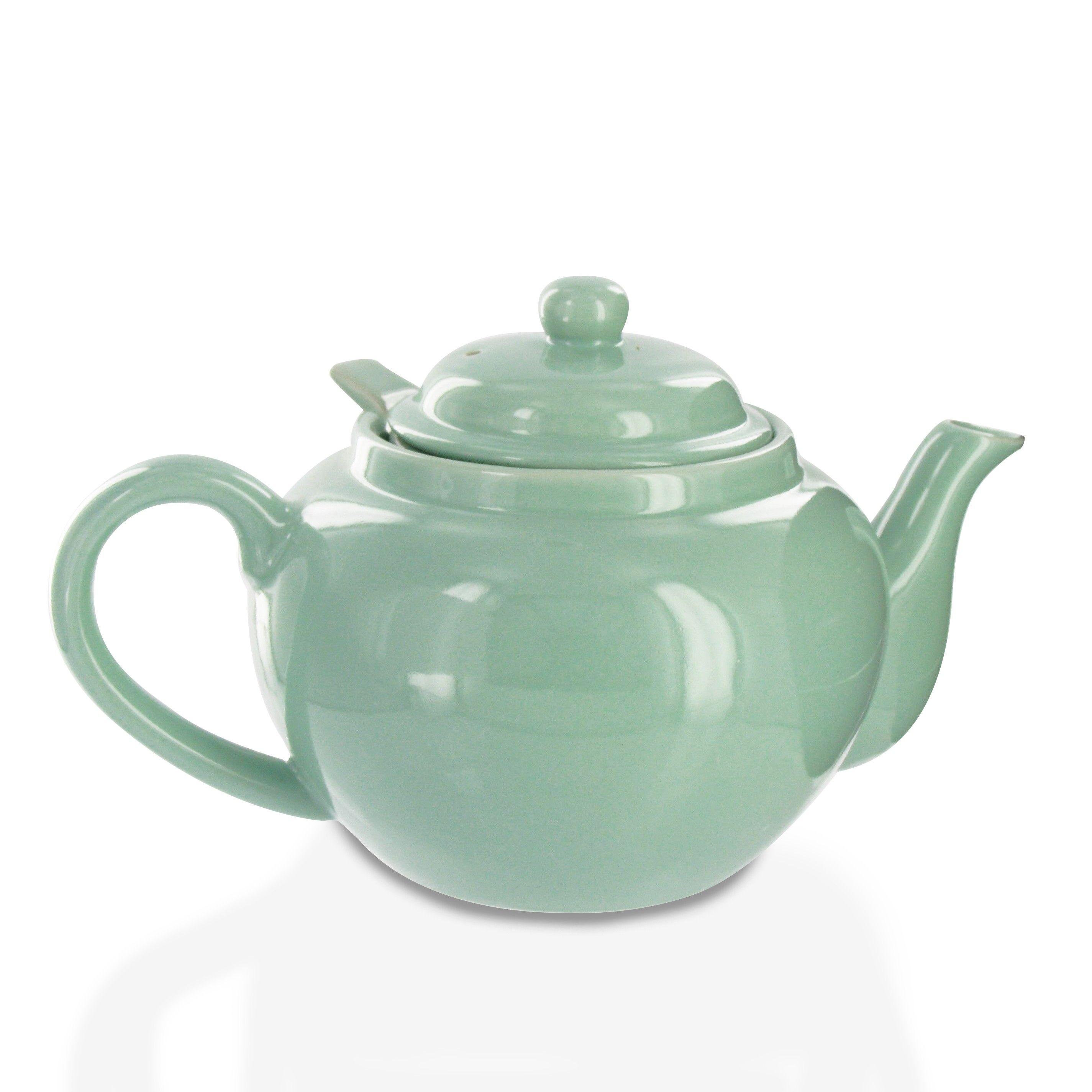 Photo of Amsterdam 2 Cup Infuser Teapot – Sea Foam