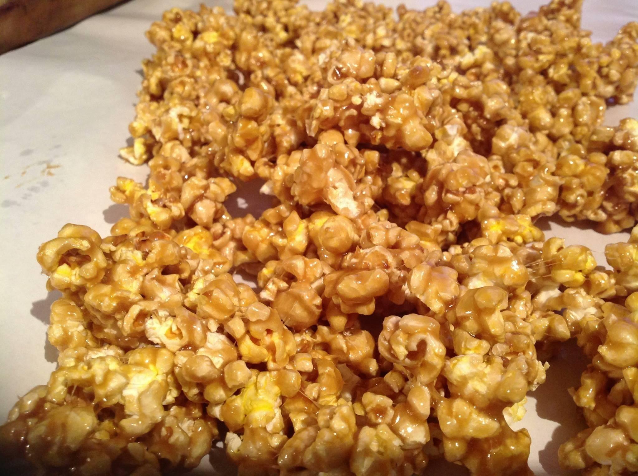 chewy caramel corn...very easy!!