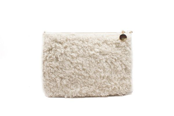 Aries Sherpa Clutch | Moorea Seal