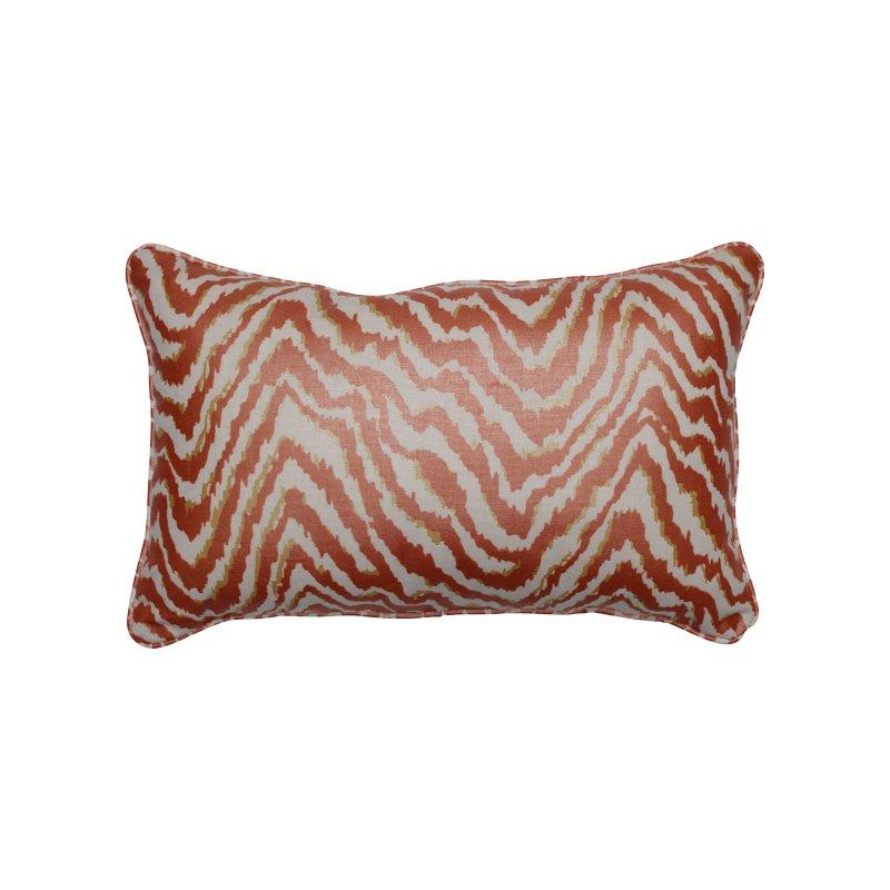 Pillow Perfect Indoor Sleek Spice Rectangular Throw Pillow