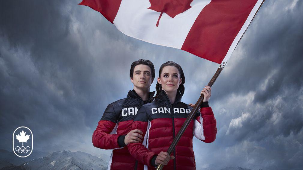 Virtue Moir To Lead Team Canada As Pyeongchang 2018 Flag Bearers Virtue And Moir Team Canada Scott Moir