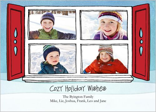 Shutterfly Window Of Us Holiday Card by Angie Allen A Fresh Bunch