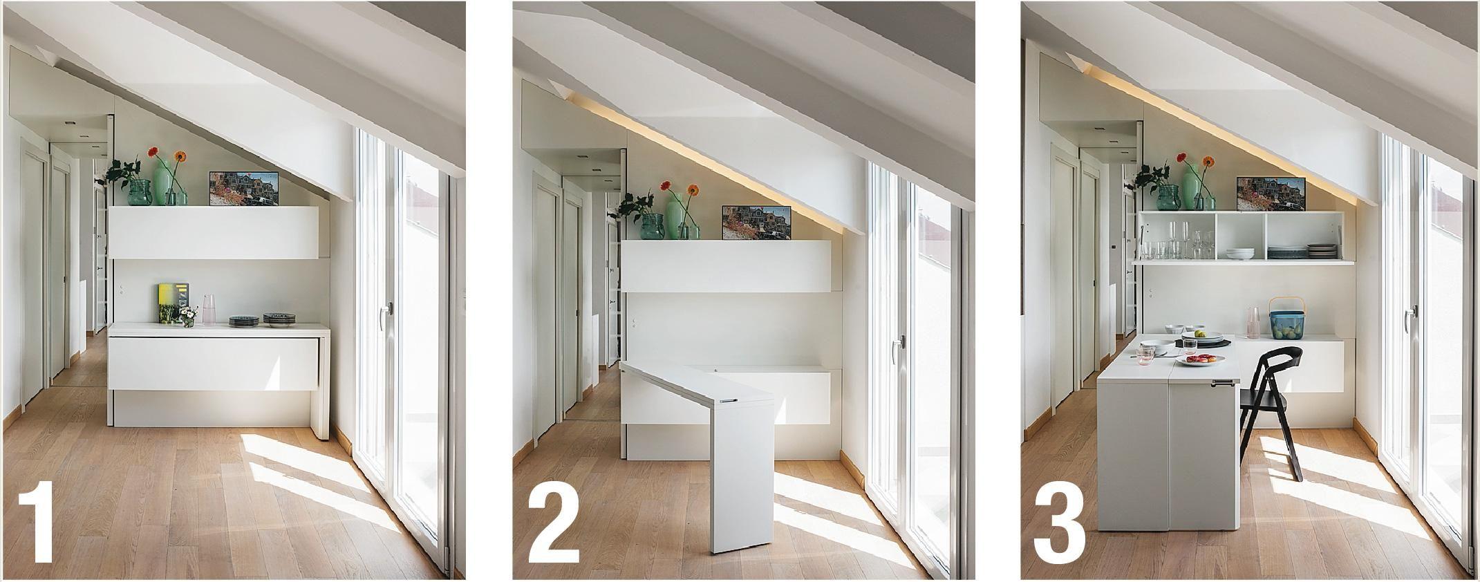 Sottotetto ristrutturato: 53 mq a nuovo nella tipica casa ...