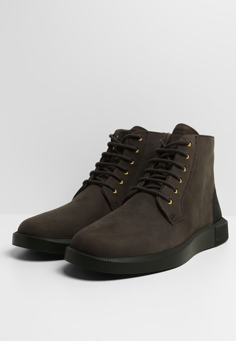 Camper BILL Lace up boots charcoal Zalando.ie in 2019