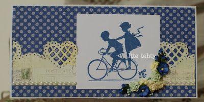 Itte tehty: Siniset pyöräilijät