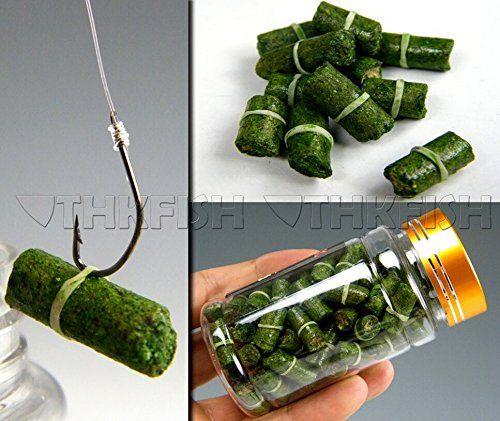 100pcs In 1 Bottle Green Grass Carp Baits Fishing Lures Fishing Baits Fishing Bait Grass Carp Bottle Cap Fishing Lures
