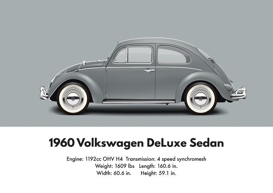1960 VW Beetle specifications and technical details | Volkswagen ...