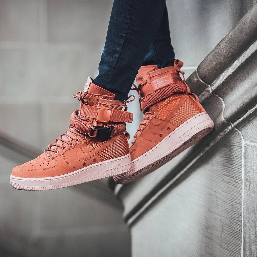Nike SF Air Force 1 Dusty Peach  07976d3a5