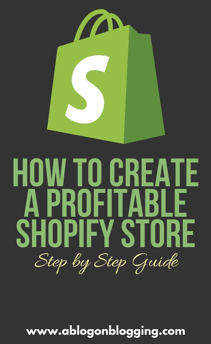 How To Create A Profitable Shopify Store (Step by Step) #OpenADietSupplementsShopifyStore