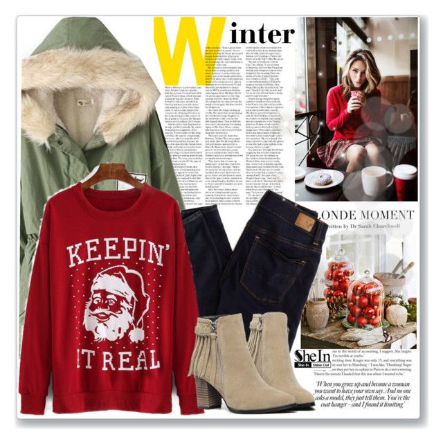 Winter style by mycherryblossom on Polyvore featuring polyvore, fashion, style, American Eagle Outfitters and clothing
