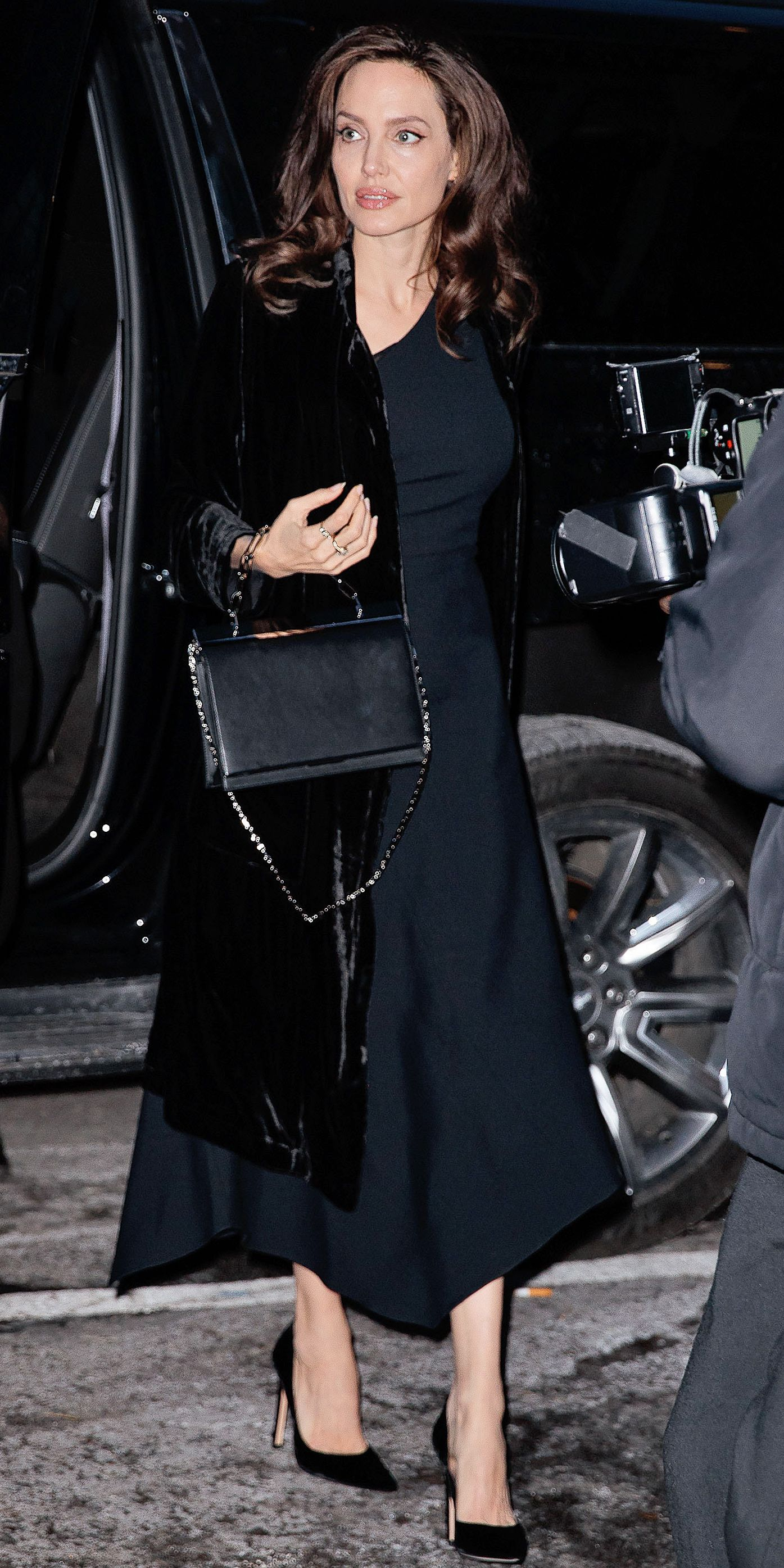 Fashion style Jolie angelina look of the day for woman