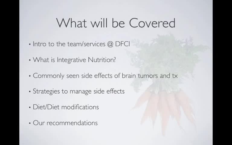 Nutrition for brain tumor patients brain tumor tumor