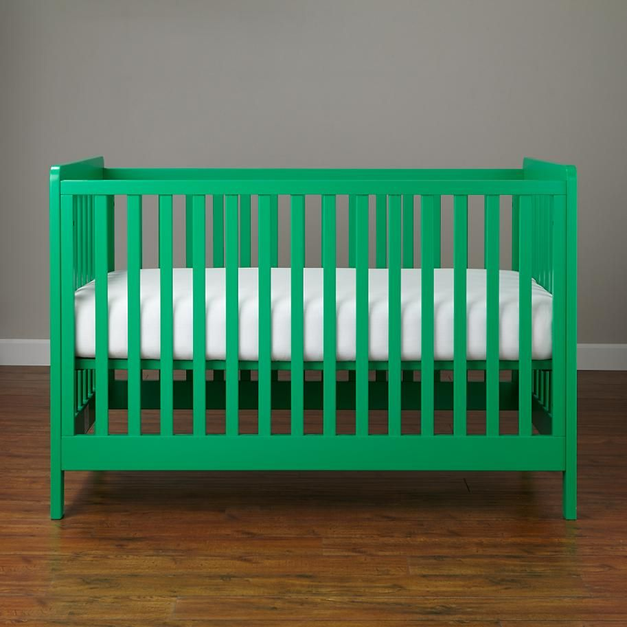 Baby cribs green - Carousel Crib Kelly Green