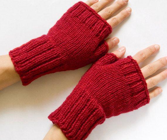 Instant Download Pdf Knitting Pattern Fingerless By Schandmade