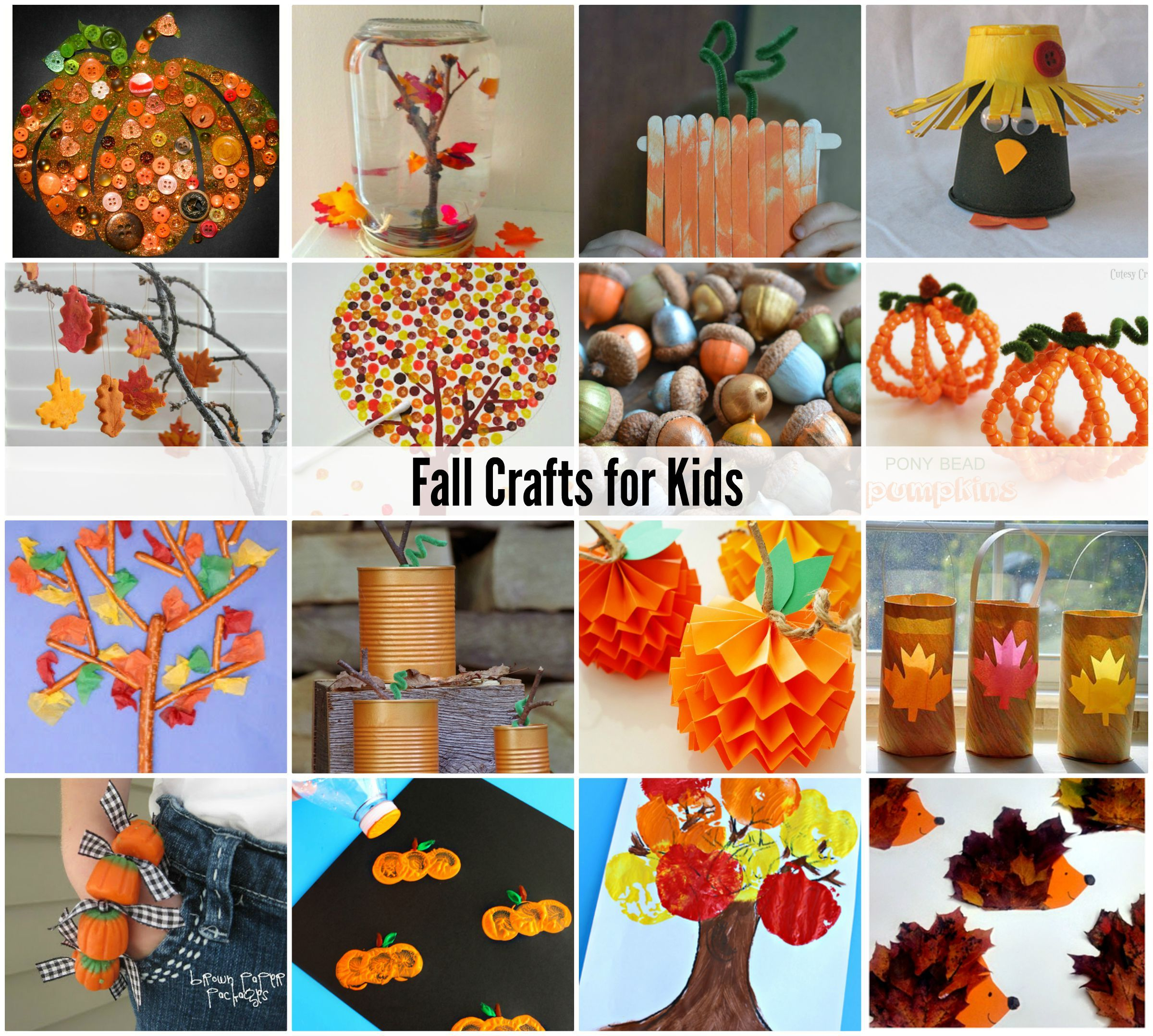 Delightful Autumn Craft Ideas Kids Part - 3: About Me. Fall Crafts For KidsKids ...