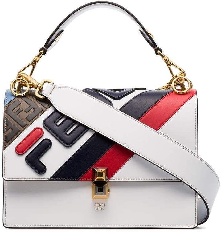 32b6b3bb Fendi FendiMania Kan I Shoulder Bag in 2019   Products   Bags ...