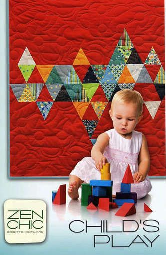 Kinder Quilt Patronen.Childs Play By Zen Chic Charm Pack Quilt Pattern Quilts For