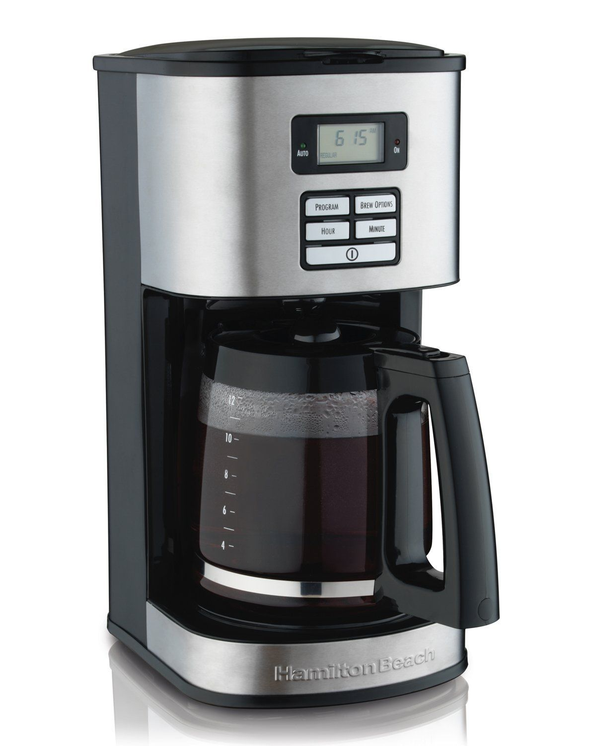Hamilton Beach 12 Cup Coffee Maker Programmable 49618 Insider S Special Review You Can Stainless Steel Coffee Maker Drip Coffee Maker Best Coffee Maker
