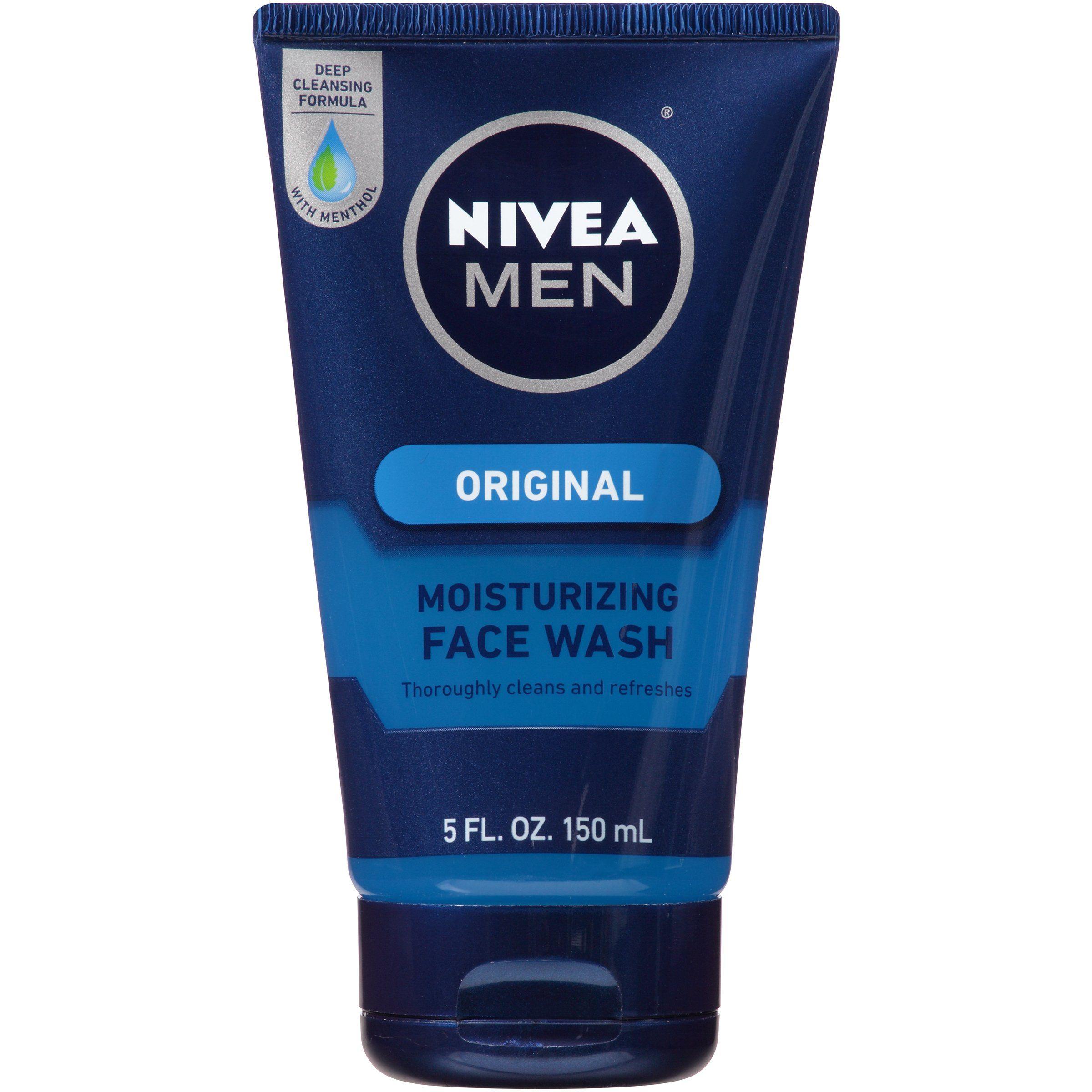 Nivea men original moisturizing face wash fluid ounce feelings