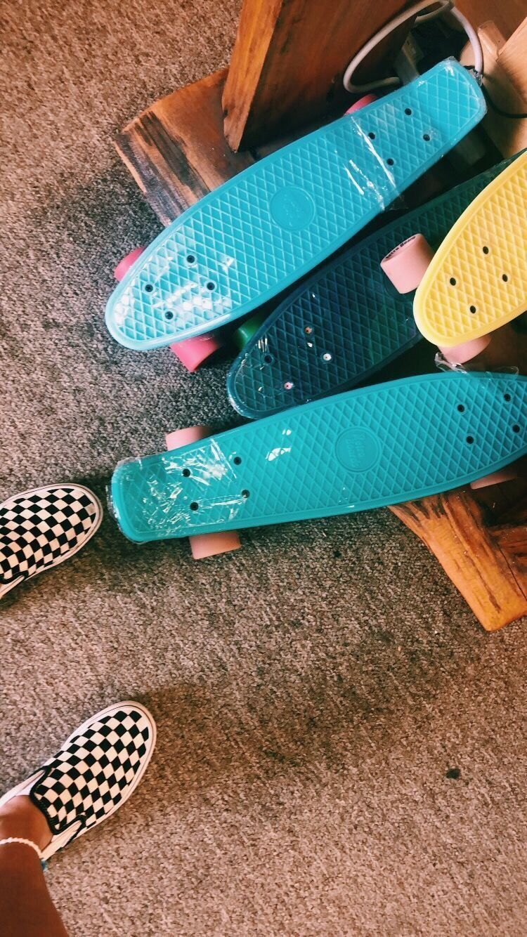 Pin By Alexis On Photos Penny Skateboard Summer Aesthetic
