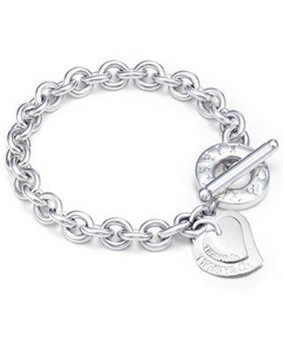 23795300045a Tiffany   Co Double Heart Toggle Bracelet. Tiffany   Co Double Heart Toggle Bracelet  Tiffany Jewelry Outlet