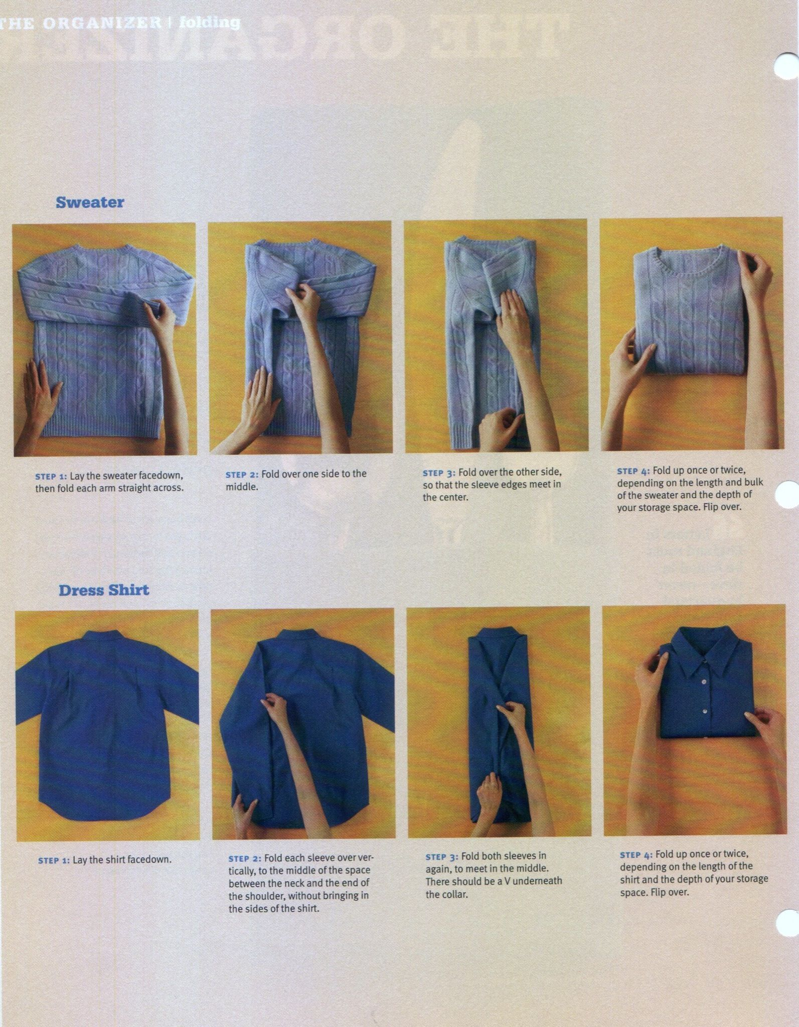 How To Fold Clothes Organization Folding Clothes Clothes