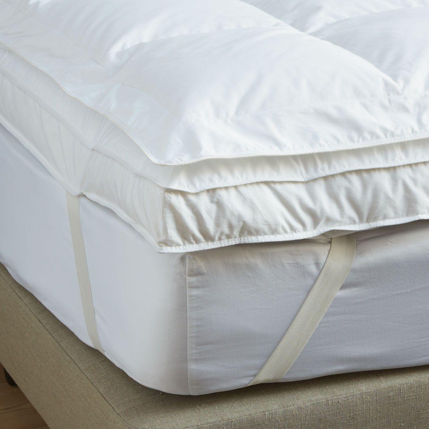 Supreme Canadian Goose Down Topper Soak Sleep Feather Mattress Mattress Mattress Topper