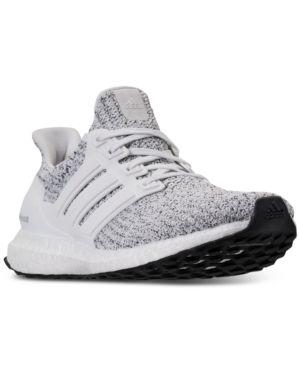 adidas Women s UltraBoost Running Sneakers from Finish Line - White ... ba1e36e799