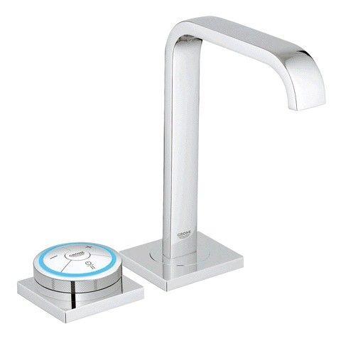 Grohe Waschtisch Armatur Allure F Digital 36342000 Digitale Mischereinheit Chrom Grohe Allure Armaturen Badezimmerarmatur Wasserhahn