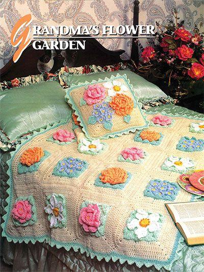 Crochet - Grandma\'s Flower Garden - #EC01193 by Annie\'s Pattern ...