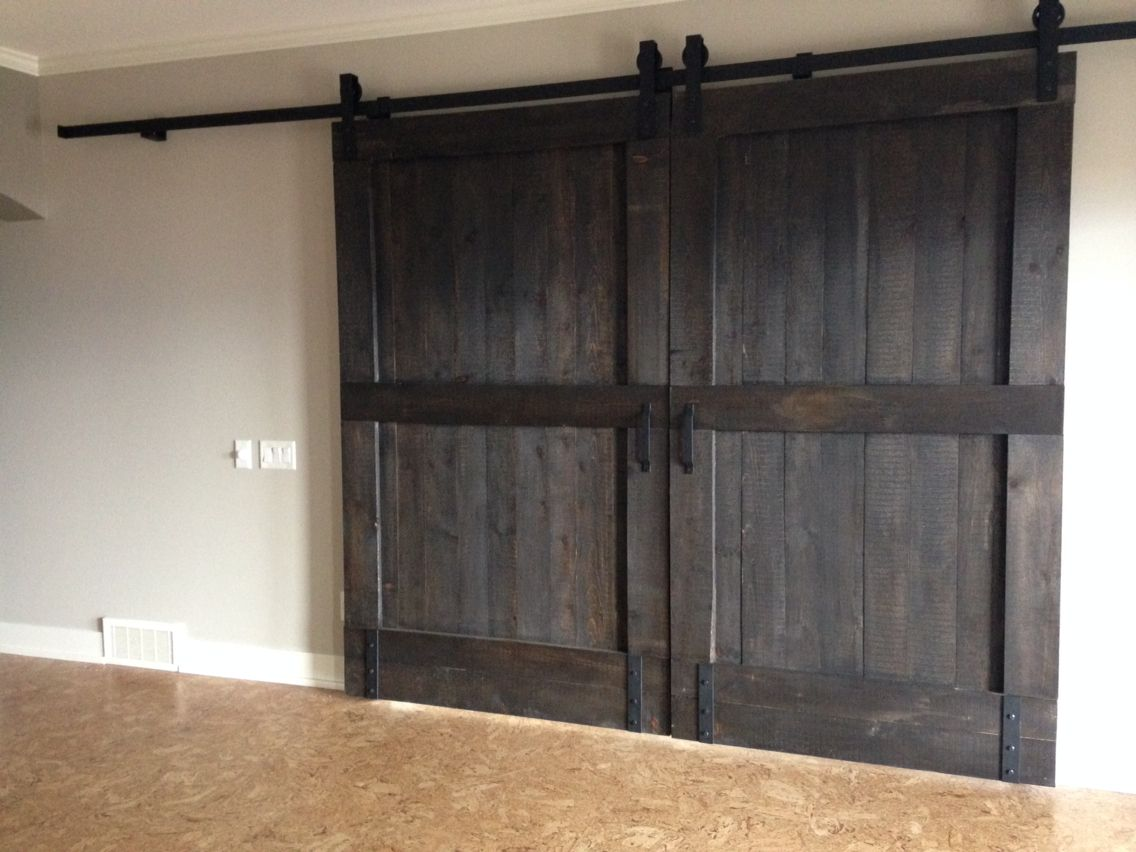 Solid bi-parting barn doors handmade in Vernon BC by GOATGEAR. Tongue and grooved & Solid bi-parting barn doors handmade in Vernon BC by GOATGEAR ... Pezcame.Com