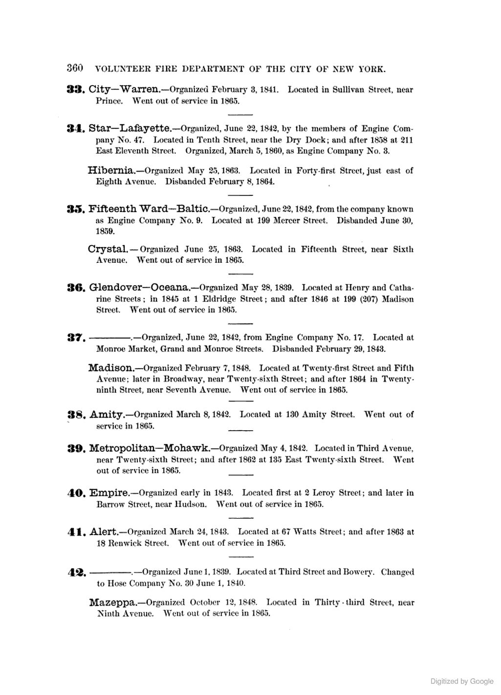 [1884]: HOSE COMPANIES. (p.4) [Sheldon, GEO. 1885, The