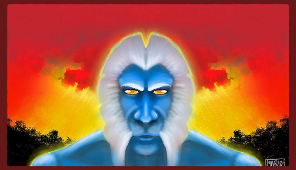 Blue Ape Wallpaper   Flickr - Photo Sharing!