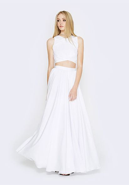 db4cbf2872b Possibly the Most Epic Selection of Two Piece Wedding Dress Bridal  Separates Ever!