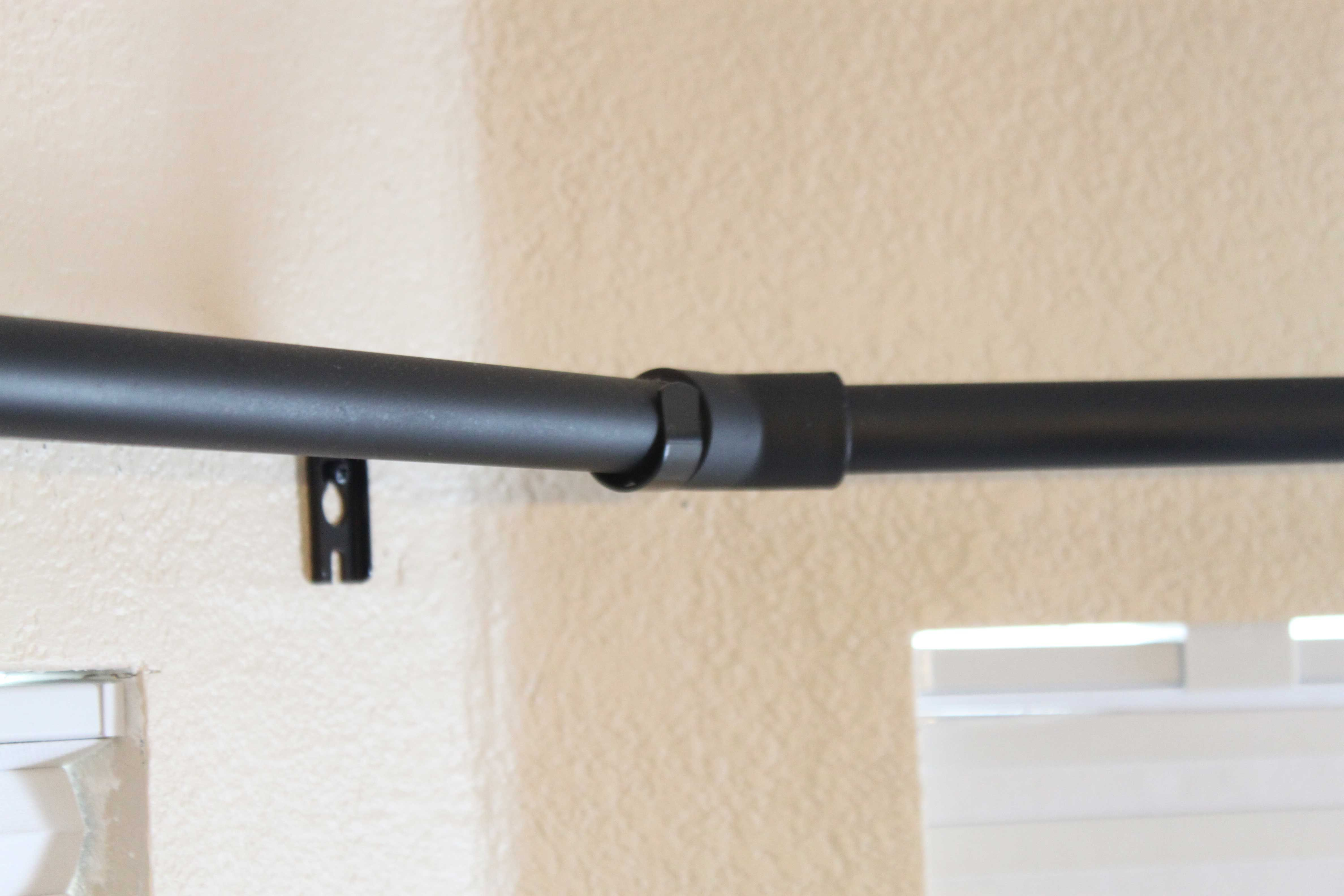 Diy Bay Window Curtain Rod Pinching Your Pennies Made With Pvc