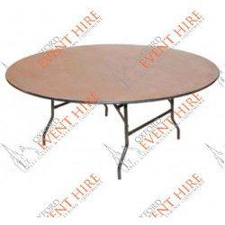 Genial 5 Ft Round Table. Seats 6   8. Diameter: 5ft (152.4 Cm