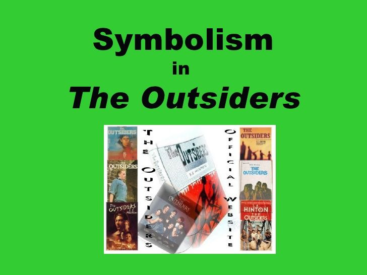 Symbolism In The Outsider For Bookmark Activity Final Middle School Novel Studie Lesson Plans Essay Question And Answers