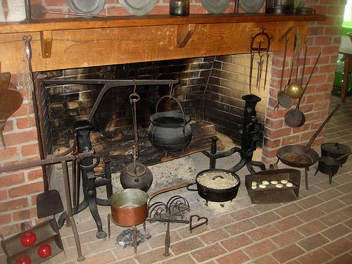 i love the fireplace crane a taste of history pinterest