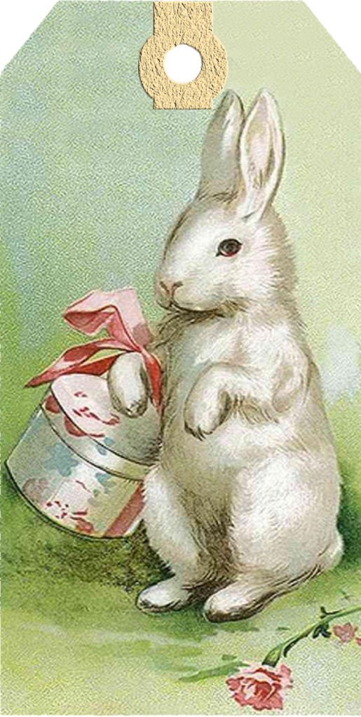 vintage easter bunny - photo #19