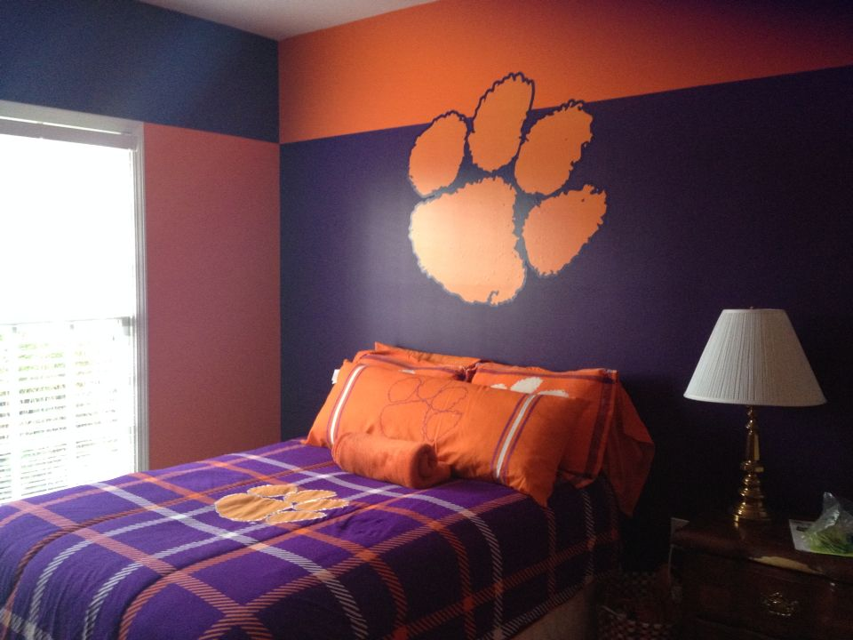 Clemson Bedroom Decor