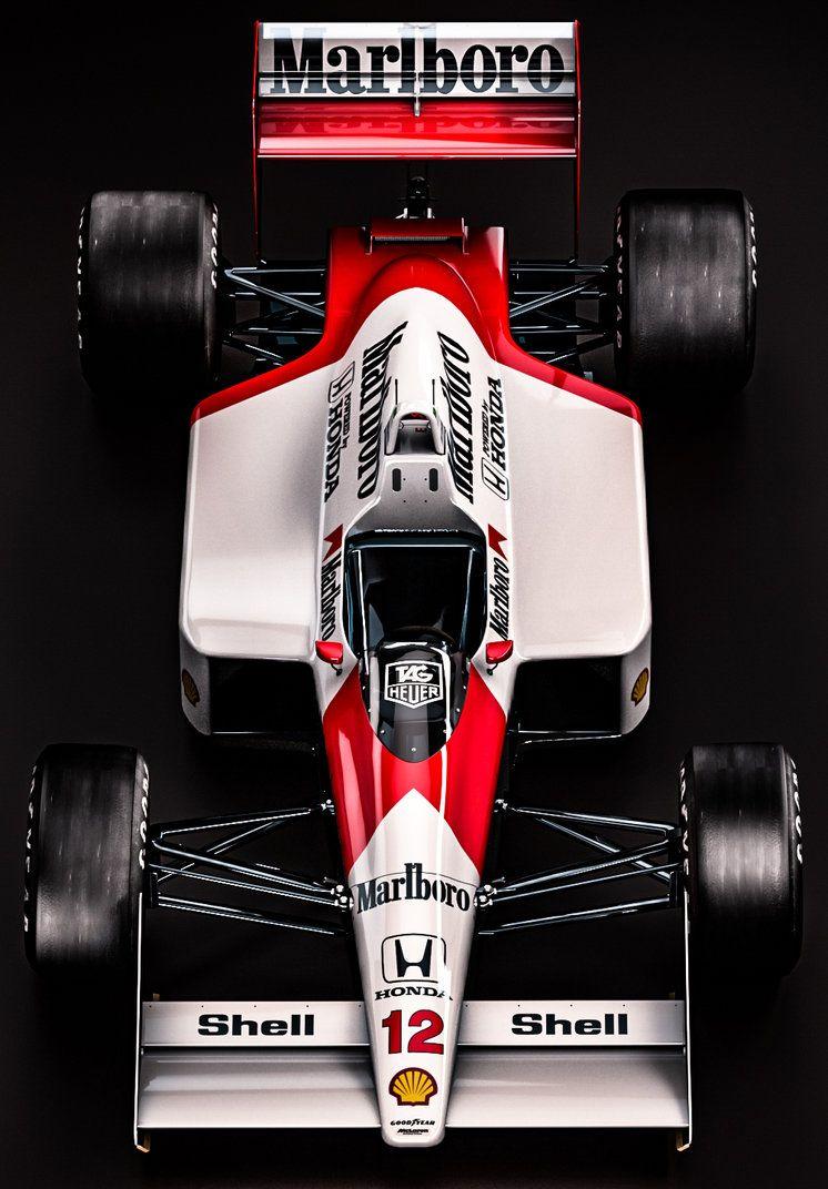 Mclaren Honda MP4/4 - Ayrton Senna by nancorocks.deviantart.com on @DeviantArt