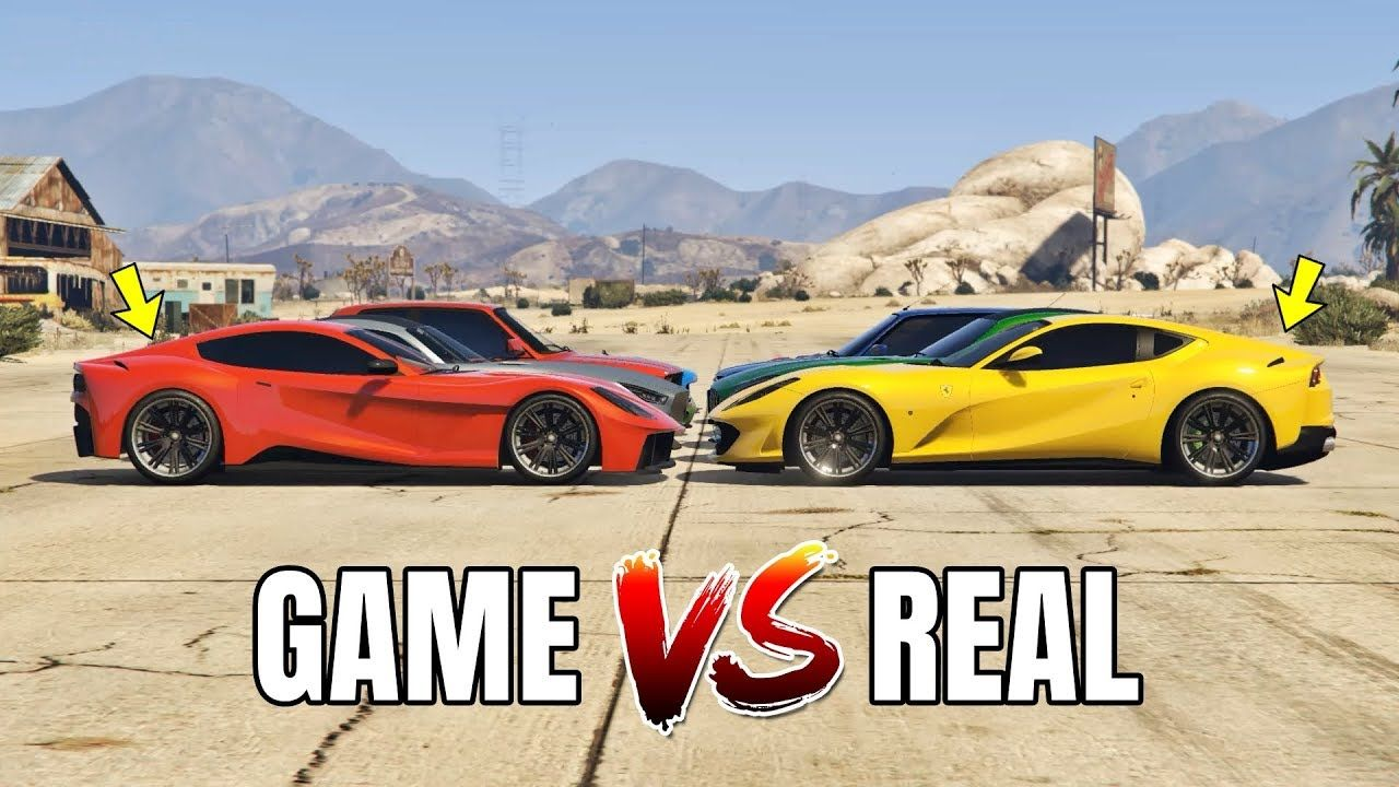 Check Out 50 Gta V Cars And Their Real Life Counterparts With