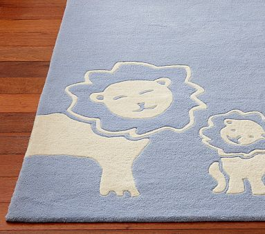 Lion Rug Potterybarn Boy Nursery