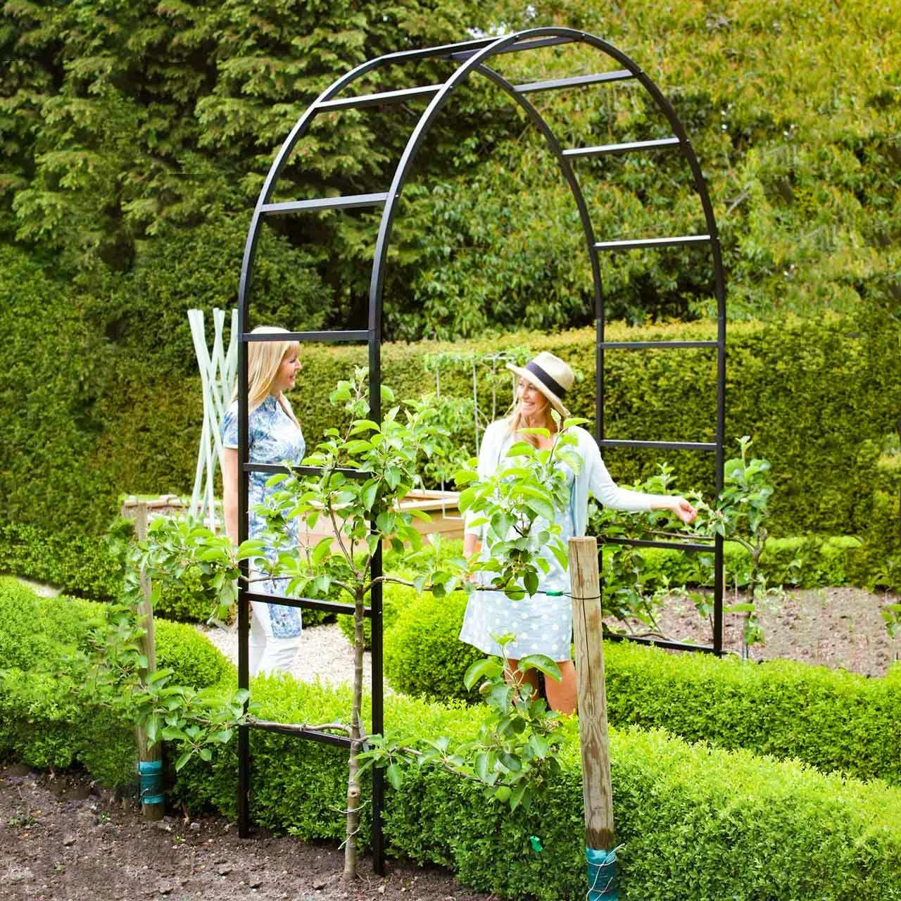 Rosenbogen »Traditional Roman« | Rosenbögen aus Metall | Rosenbögen | Gartengestaltung | The Garden Shop