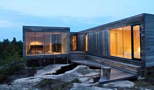 Scandinavian summerhouse