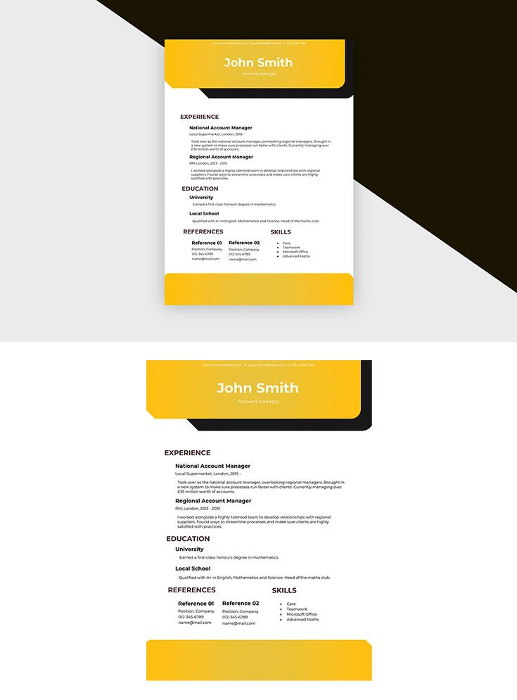 Free resume account manager ii template accounting