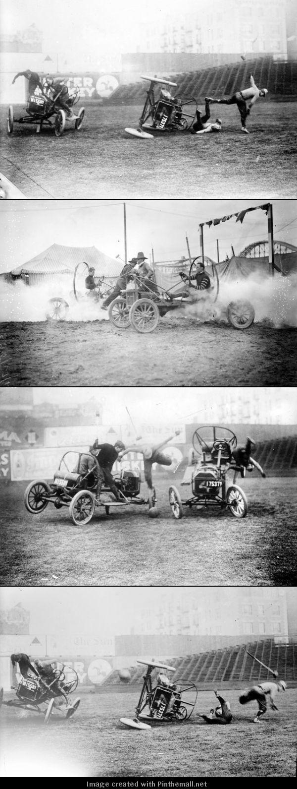 AUTO POLO: c.1910s - Automobile polo or Auto polo was a motorsport ...