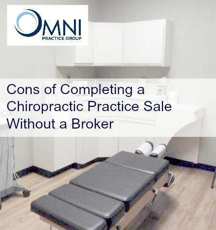 The experts at OMNI Chiropractic Practice group have decades of experience helping practice sellers locate qualified buyers for a seamless business sale, and in this latest article they explain the cons of completing a sale without a Chiropractic practice broker.